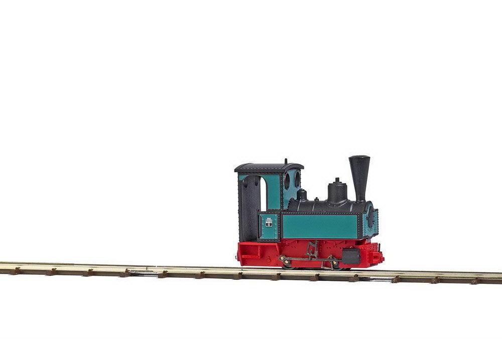 Busch 12141 h0f campo Bahn-locomotiva Decauville Francoforte Nuovo/Scatola Originale