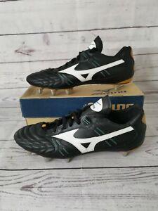 Men's rugby MIZUNO Guerrier WB Low St boots avec rivets UK 14