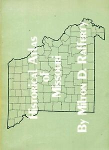Details about Missouri History Historical Atlas 113 Maps Geography  exploration RR caves rivers