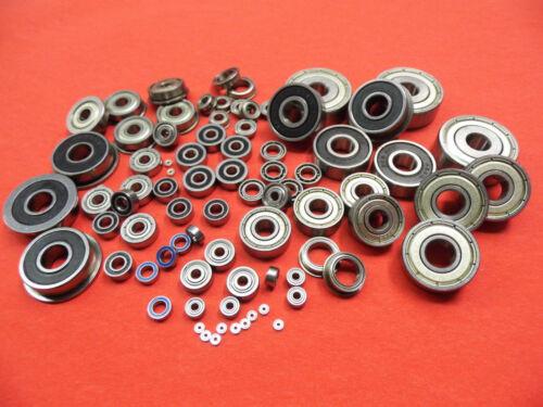 4  Stück Miniatur Kugellager 608 2Z   SKF 8 x 22 x 7