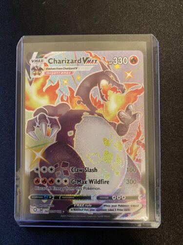 Charizard VMAX Shining Fates Pokemon TCG Pack Fresh SV107/SV122