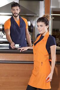 Grembiule cucina bar cuoco uomo donna da lavoro sommelier abbigliamento abiti ebay - Abbigliamento da cucina ...