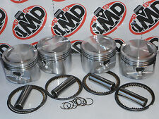 KAWASAKI ZX550 ZR550 KZ550 PISTON KITS (4) NEW +1.0mm Z550 GT550