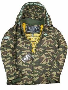 Yakuza-Premium-Ubergangsjacke-Jacke-Camouflage-Camo-Oliv-Tarn-Fuer-Herren-5053