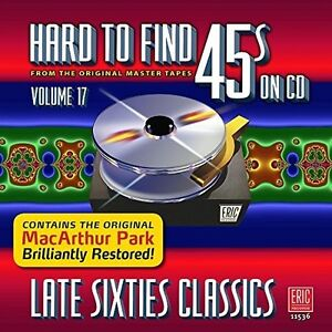 Various-Artists-Hard-To-Find-45s-On-Cd-V17-Late-Sixties-Var-New-CD