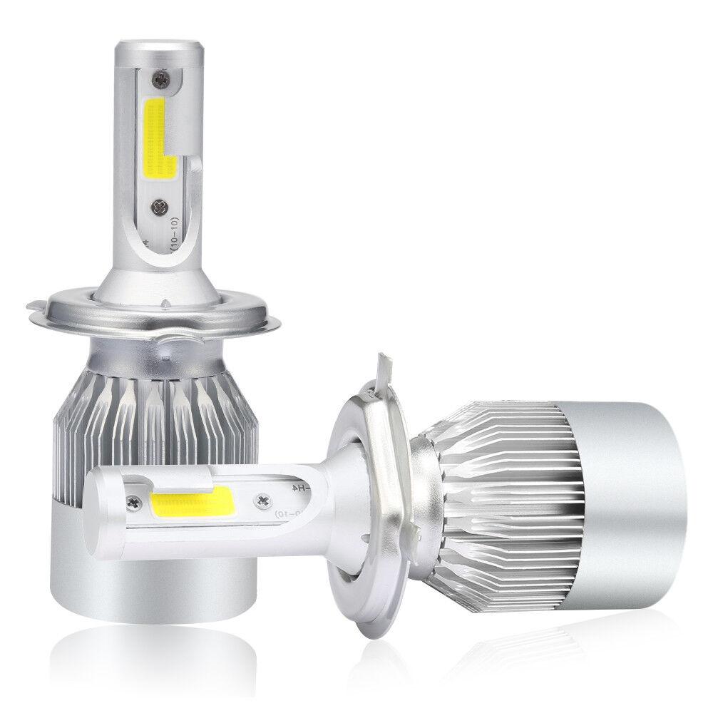 2x h4 1400w 180000lm cree led headlight kit lights hi lo. Black Bedroom Furniture Sets. Home Design Ideas