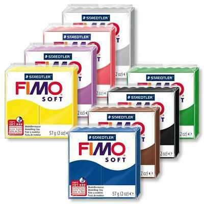 Buy 5 Get 2 Free All 33 Colours 57g FIMO Soft Polymer Oven Modelling Clay