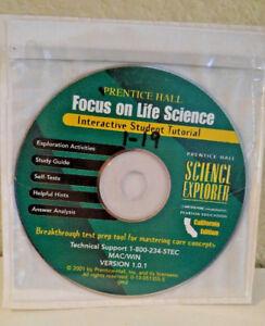 prentice hall life science 7th cd rom self tests answer key study rh ebay com AP Environmental Science Study Guide 6th Grade Science Study Guide