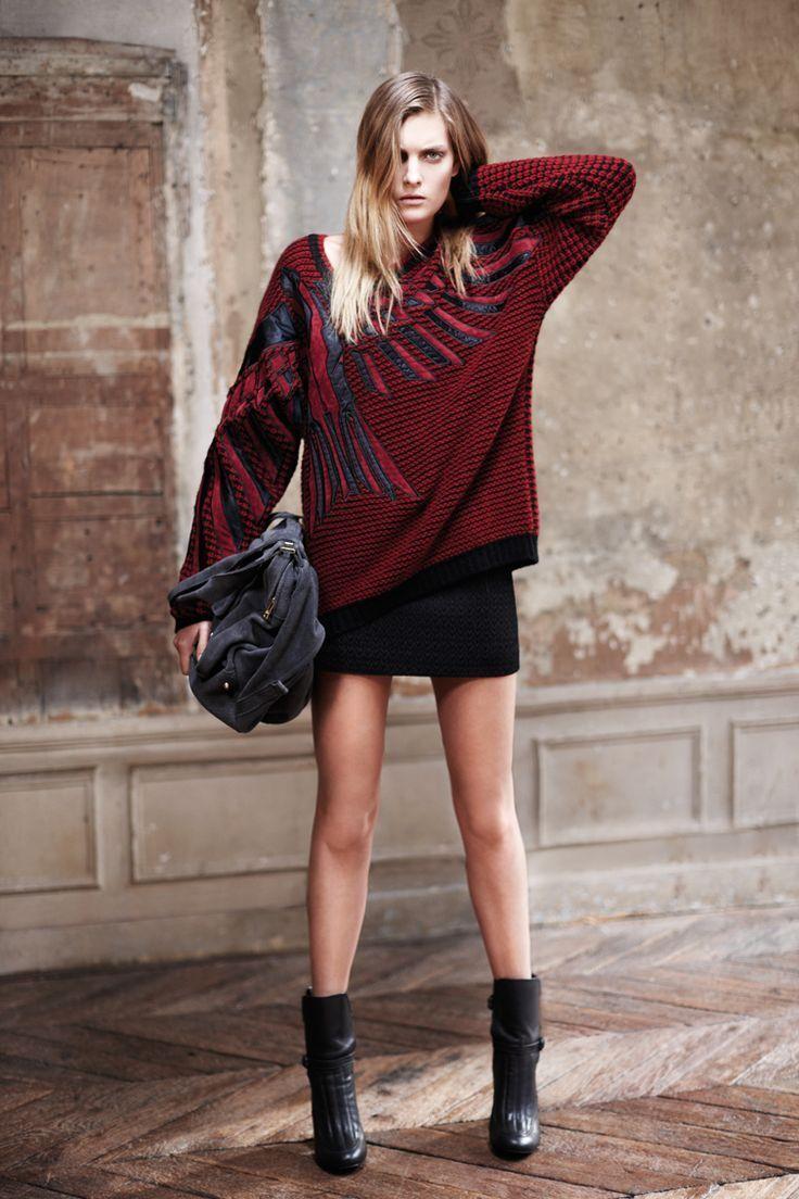 275 Authentic Rare ZADIG&VOLTAIRE Women's Denim Mini Short Skirt SOLD OUT