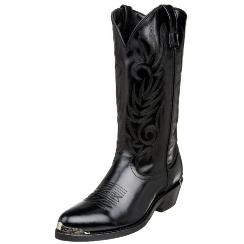 11.5, D LAREDO MEN/'S LEATHER MCCOMB BLACK