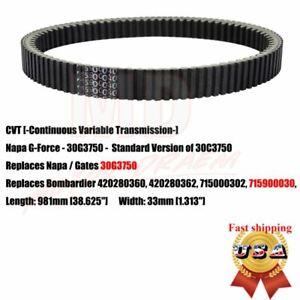 CVT Carbon Drive Belt 30C3750 30G3750 for Can-Am ATV//UTV Commander//Renegade//Outlander//Maverick 420280360 715000302