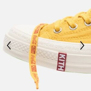 Kith x Coca Cola Converse Chuck Taylor 70 China Yellow Size 11 *IN
