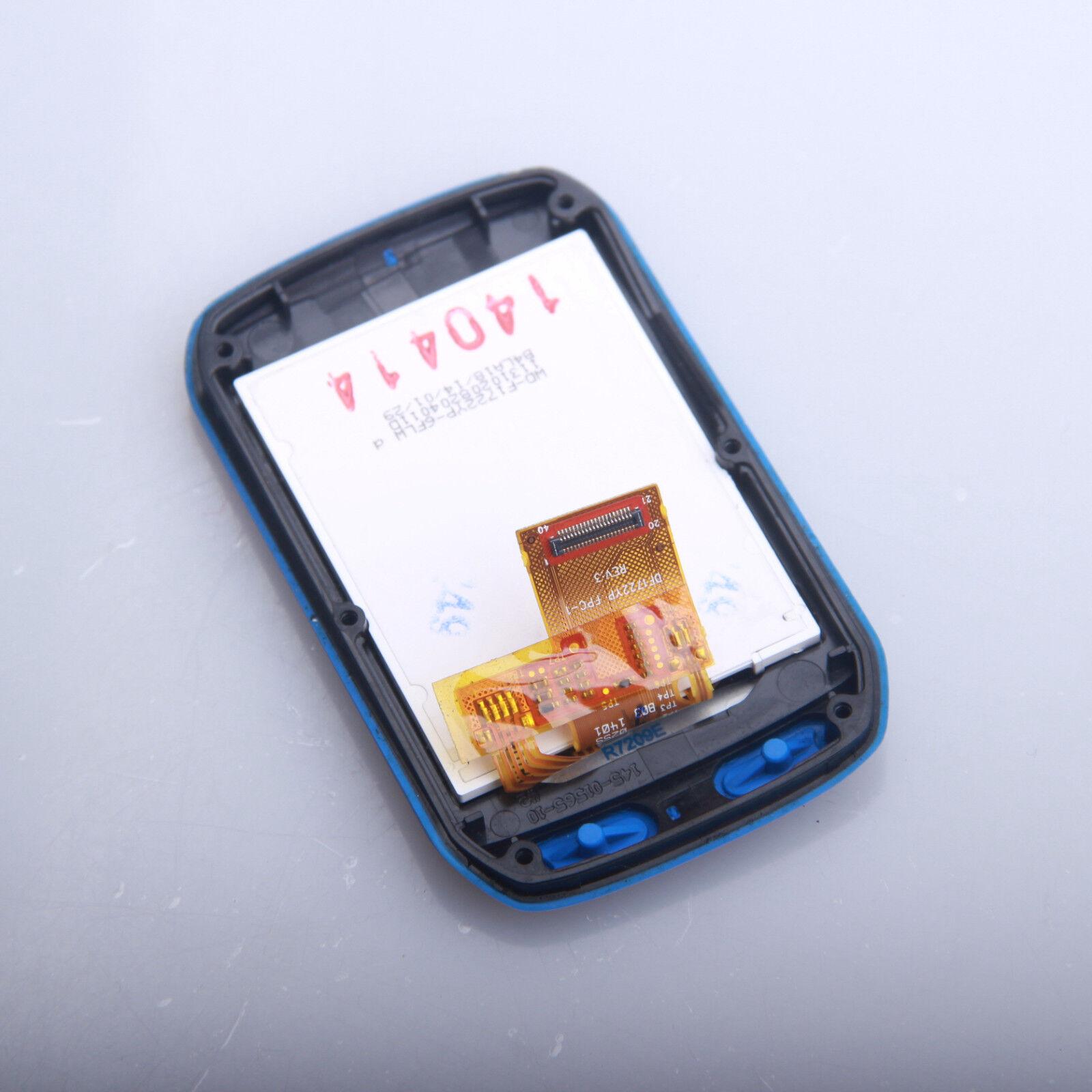 Blau Front Case Cover LCD Display Screen Garmin Edge510 Watch Repair Part