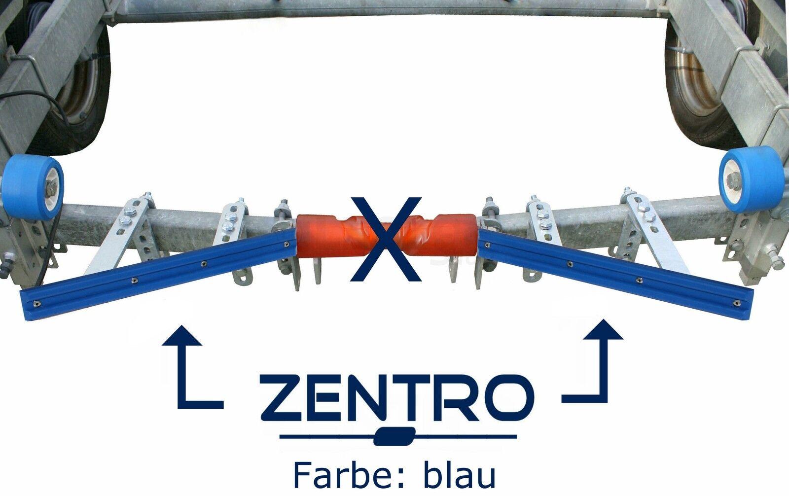 ⚓ Zentrierhilfe Zentriervorrichtung ZENTRO Trailer - blau/rot | Sliphilfe Trailer ZENTRO 73e742
