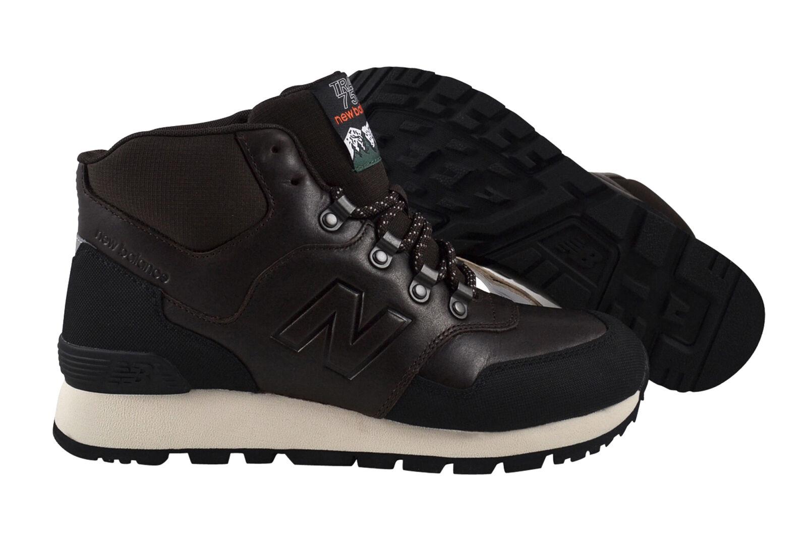 Zapatos casuales salvajes New balance hl755 br Brown zapatos botas cortos marrón