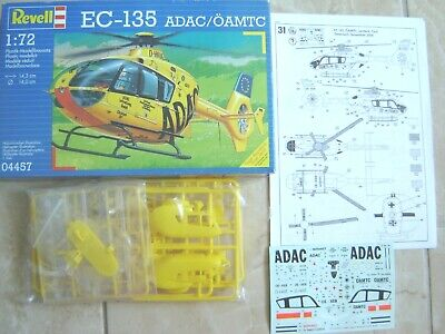 MAQUETTE REVELL HELICOPTERE  EUROCOPTER EC 135 1//72 NEUF adac oamtc