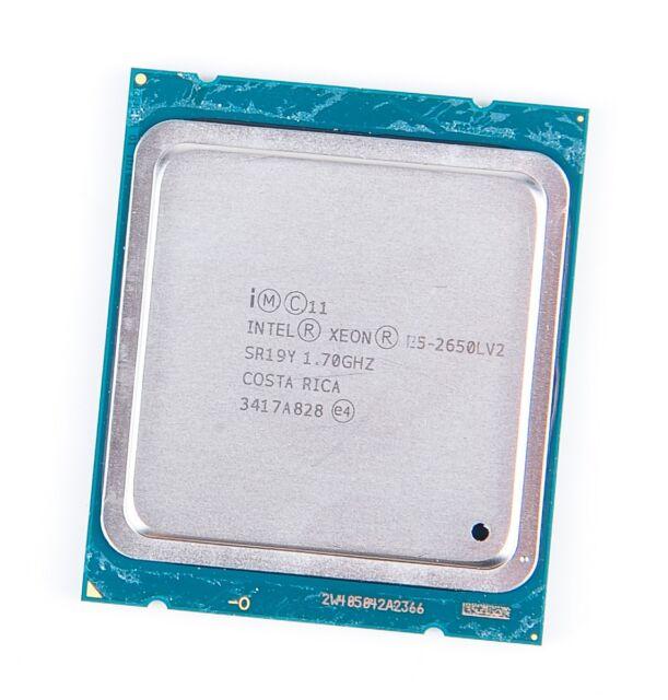 Intel Xeon e5-2650lv2 10-core CPU 10x 1.70 GHz, 25 MB smartcache - SR1