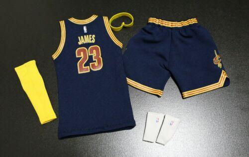 1//6 FIGURE lebron james Cleveland Cavaliers jersey 23  NBA fit enterbay