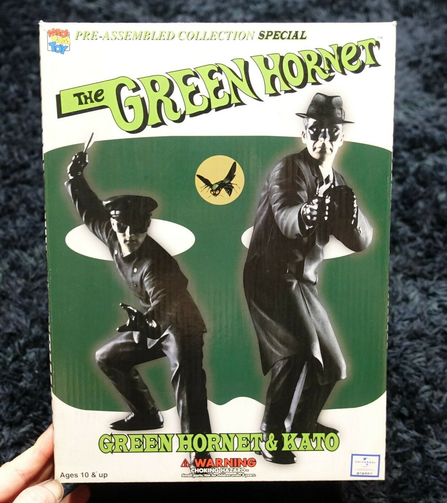 THE GREEN HORNET  Van Williams Bruce Lee MEDICOM TOY PVC FIGURE