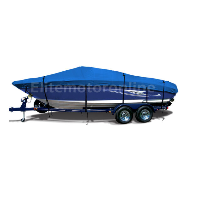 20/' Heavy Duty Trailer Pontoon Boat Cover Waterproof Fishing Ski PPT1G 17/'