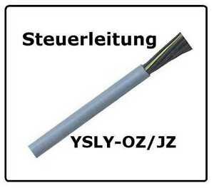 Steuerleitung YSLY-JZ 5x0,5 mm² 50m Ring Steuerkabel wie Ölflex