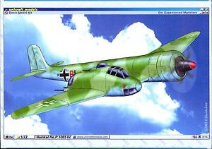 Unicraft Models 1/72 HEINKEL He.P.1065 IIc Asymmetric Schnellbomber Project