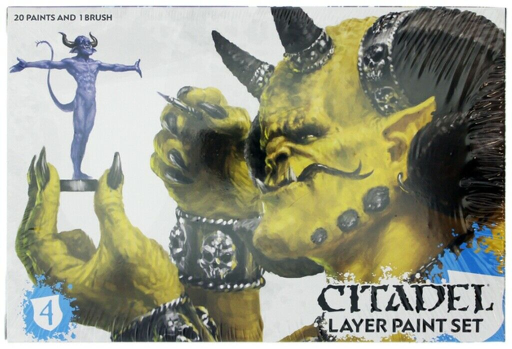 Warhammer Age of Sigmar  Citadel Layer Paint Set 60-25