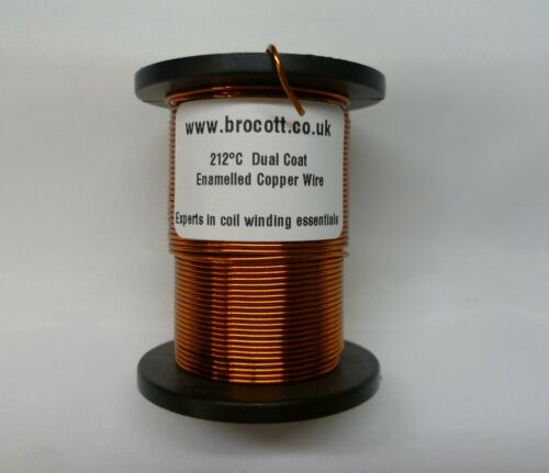 125 Gram Spool COIL WIRE 0.71mm ENAMELLED COPPER WINDING WIRE MAGNET WIRE