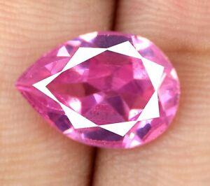 Loose Gemstone Cushion 7-9 Carat Afghani Pink Kunzite Natural AGI Certified