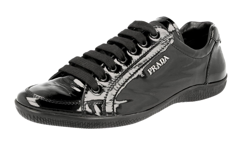 shoes shoes shoes PRADA LUXUEUX 3E5620 black NOUVEAUX 37 37,5 8551b6