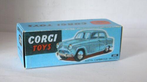 Repro box Corgi nº 201 Austin Cambridge Saloo azules Box