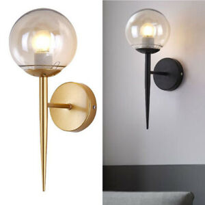 Wall Sconces Antique Gold Metal Body