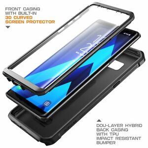 new arrival c40ba c71cb Details about Case For Samsung Galaxy Note 8 Full-body Case With Built-In  Screen Protector New