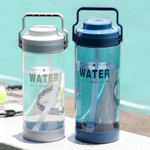 Bottle With Straw Plastic 700ml BPA Free Tritan Water Bottle Portable Sports