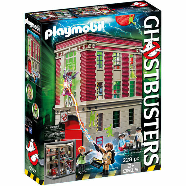 PLAYMOBIL GHOSTBUSTERS Caserma dei Pompieri Quartier Generale 9219