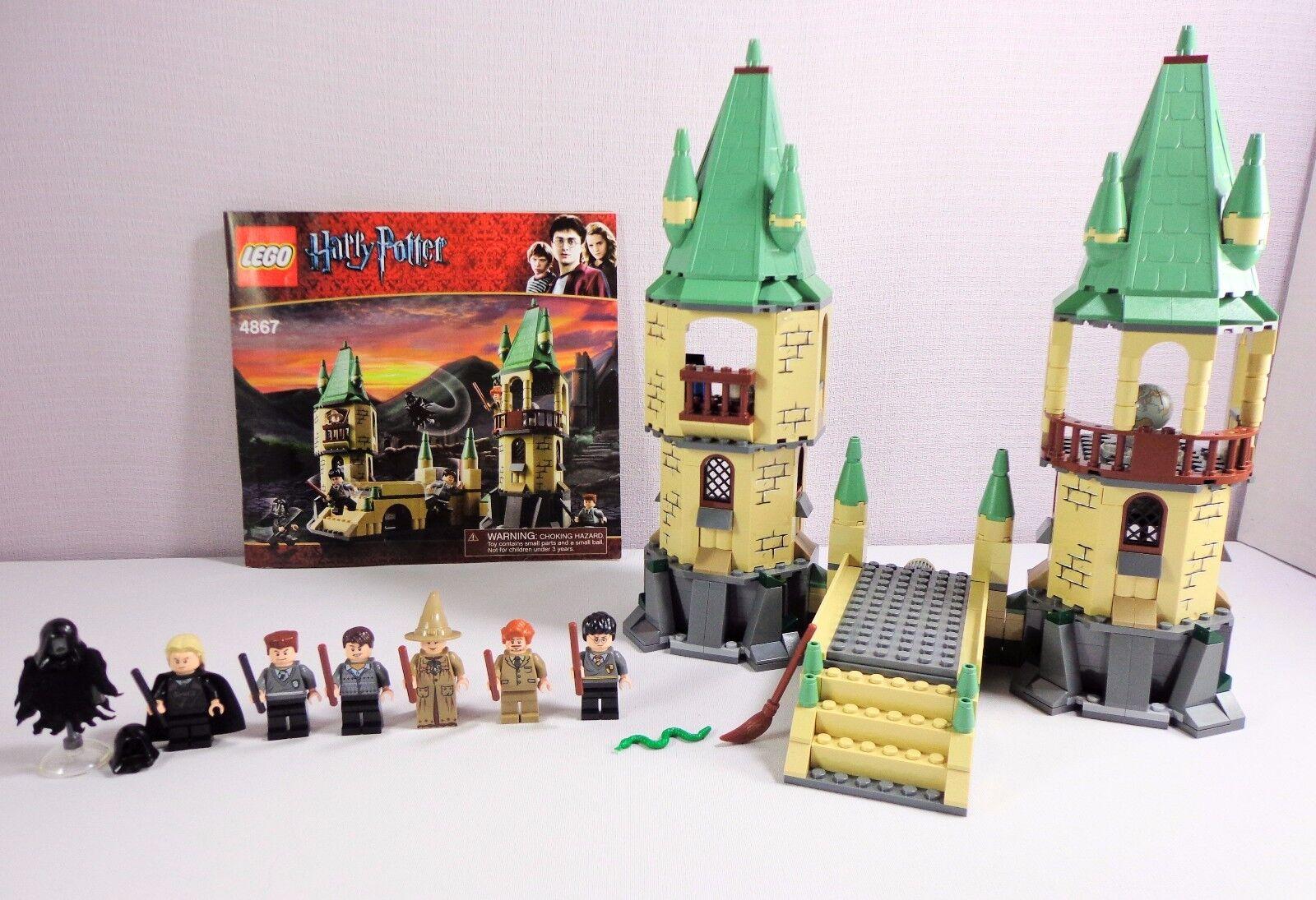 Lego Harry Potter 4867 Hogwarts Dementor Malfoy Neville Professor Sprout Lupin