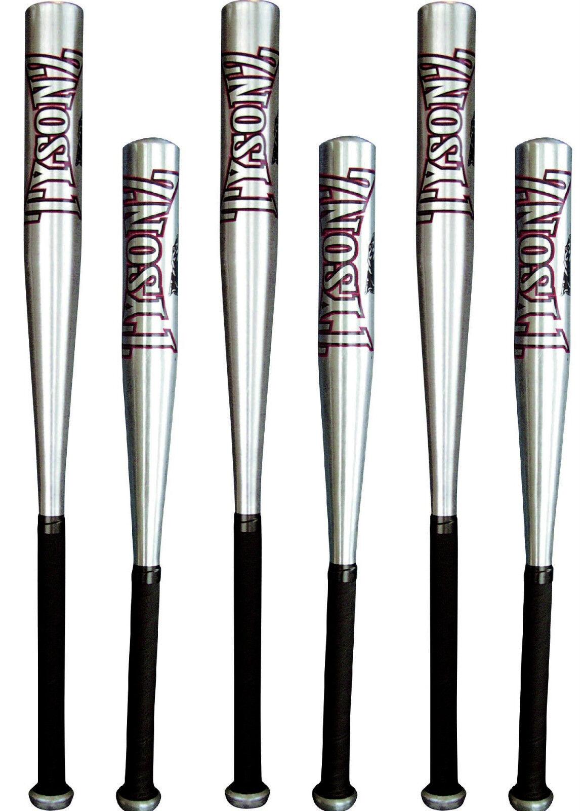 6x Baseballschläger ALU 32 ,82 cm + 26 ,67cm American Baseball BB Schläger 18d82e
