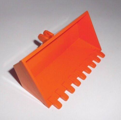 in orange aus 8959 Lego 47508 Baggerschaufel 4x8 9 Zähne