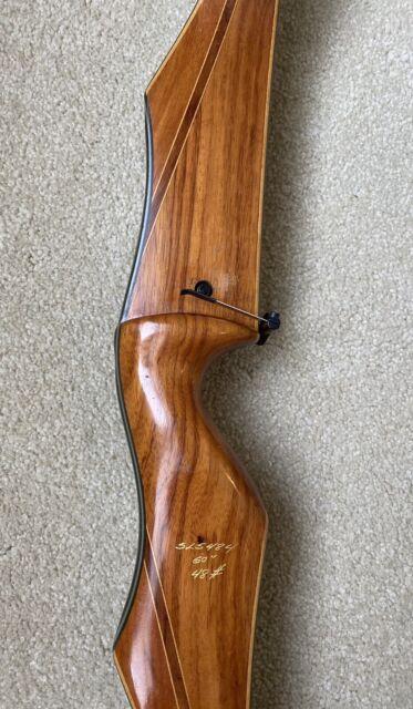 Vintage 1965 Fred Bear Archery Kodiak Recurve Bow 60 51
