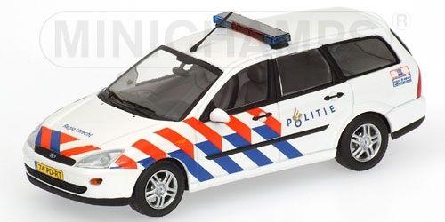 Carnaval Carnaval Carnaval ultime, le prix ultime Ford Focus Turnier Politie 1:43 Model MINICHAMPS | Pas Chers  899229