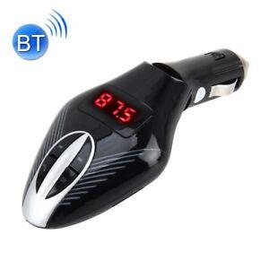 KIT VIVAVOCE BLUETOOTH PER AUTO MP3 USB MICRO SD IPHONE UNIVERSALE SIRI SAMSUNG
