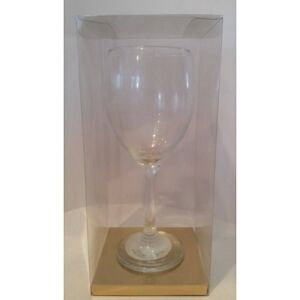 Details About Luxury Transparent Pvc Acetate Wine Glass Gift Box For Wine Glass 100x100x190mm
