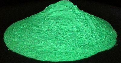 Glow In the Dark Pigment Powder - Photoluminescent - YELLOW-GREEN