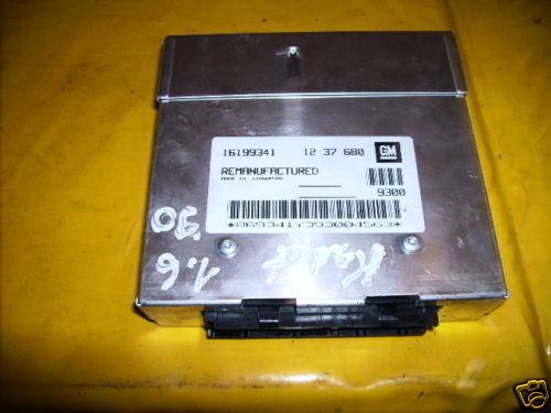 Opel Kadett E 1,6  Motorsteuergerät GM 16199341