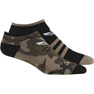 adidas-Originals-Trefoil-Camouflage-Liner-Sneaker-Socken-Sportsocken-2-Paar-NEU