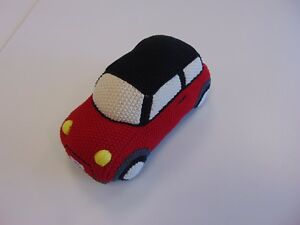 Genuine Mini John Cooper Works Knitted Car Pn 80452454546 Uk Present Ebay