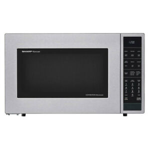 Sharp SMC1585BS 1.5 Cu Ft 900W Convection Microwave Oven (Refurbished)