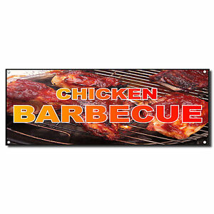 A-frame Barbecue Chicken Sign Double Sided Graphics   24 ...   Bbq Chicken Sign