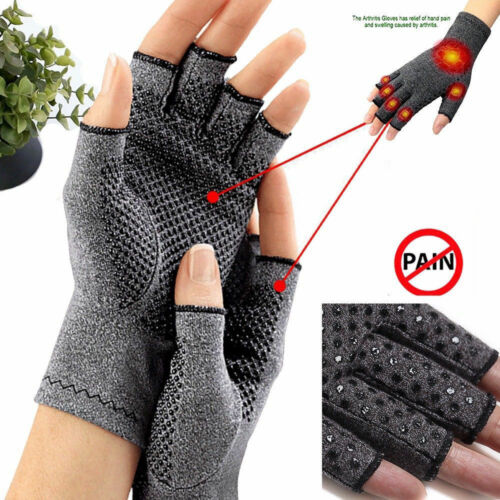 Compression Gloves Carpal Tunnel Arthritis Joint Pain Relief Promote Circulation