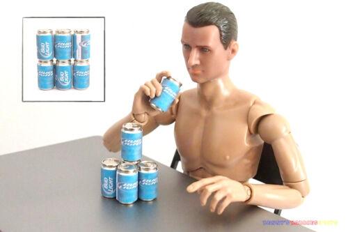 6PC 1//6 US Americano lattine di birra BUD Light per Enterbay Action Figure Bambola Barbie